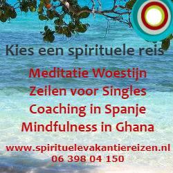 Banner van Spirituele Vakantie Reizen