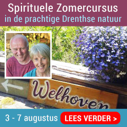 Banner van Spirituele zomercursus