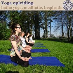 Banner van Yoga Alliance erkend