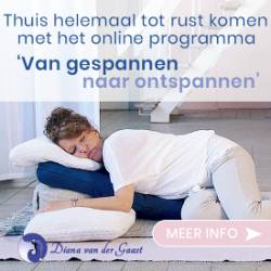 Banner van Restorative Yoga