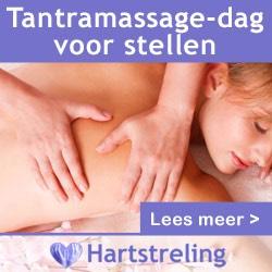 Banner van Tantra massage dag