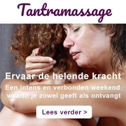 Banner van Tantramassage Inana