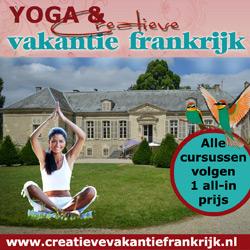 Banner van Creatieve vakantie Frankrijk