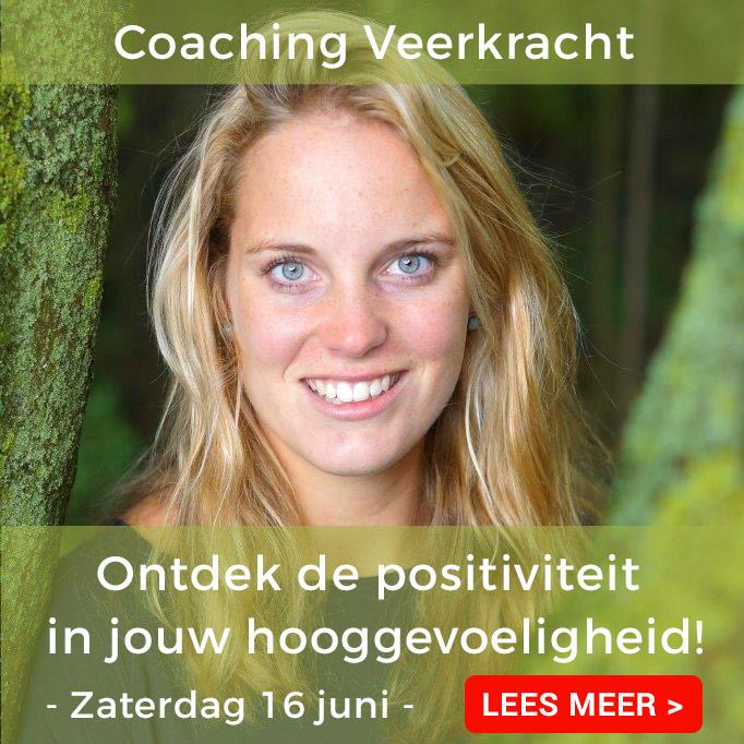 Banner van Coaching Veerkracht