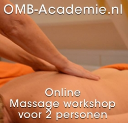 Online Massage workshop voor 2 personen