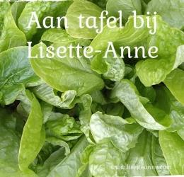 Aan tafel bij Lisette-Anne