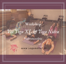 Yin Yoga XL & Yoga Nidra workshop