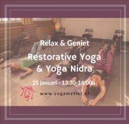 Relax & Geniet - Restorative Yoga & Yoga Nidra