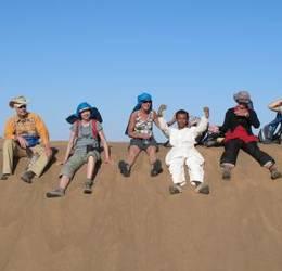 Marokko-Sahara: wandeltrektocht met kamelen