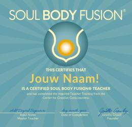 Soul Body Fusion® lerarenopleiding
