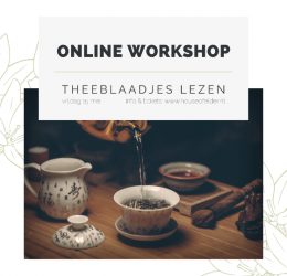 Online Workshop Theeblaadjes Lezen