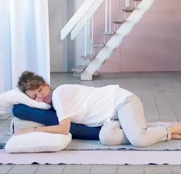 Week retraite mindfulness en Restorative yoga