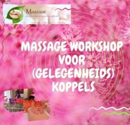 Massageworkshop voor (gelegeheids)koppels