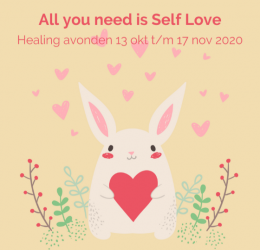 Spirituele agenda - Healing avonden All you need is Self Love