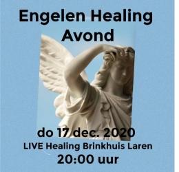 Engelen Healing Avond LIVE in het Brinkhuis