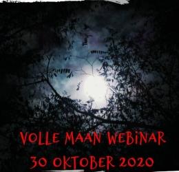 Volle Maan webinar vrijdag 30 oktober 2020