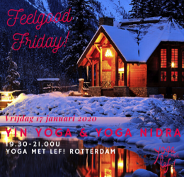 Feelgood Friday - Yin Yoga & Yoga Nidra