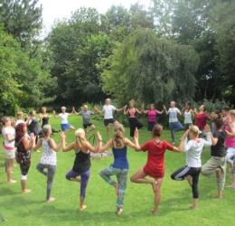 Stressreductie weekend met yoga & adem