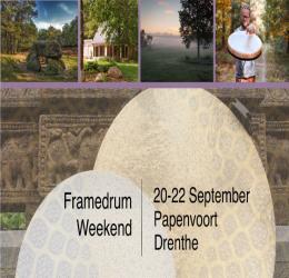 Framedrum weekend in Drenthe