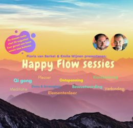 Spirituele agenda - Happy Flow sessies