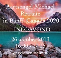 Infoavond  Aarts. Michael retraite, Canada 2020