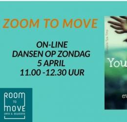 Zoom to Move ( dansen op zondag 5 april)