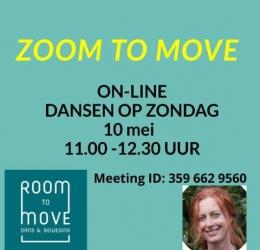 Zoom to Move ( dansen op zondag 10 mei)