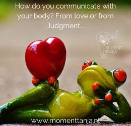 Healing Moment Liefde voor je lijf